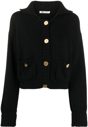 Ports 1961 Ribbed Trim Buttoned Cardigan