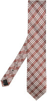 Tom Ford check pattern tie