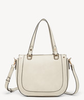 Sole Society Women's Rubie Satchel 2 Straw Satchel With Vegan Leather Trim In Color: Cream Bag VEGAN LEATHER / STRAW From