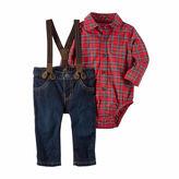 Carter's 3-pc. Stripe Pant Set Baby Boys