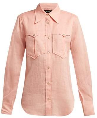 Isabel Marant Naria Western Shirt - Womens - Pink