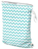Bed Bath & Beyond Planet Wise Large Wet Bag in Teal Chevron