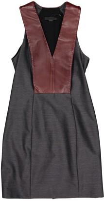 Alexander Wang Grey Wool Dresses