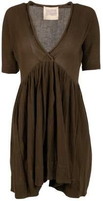 N. Electric Feathers \N Green Silk Dresses