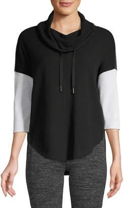 Calvin Klein Colourblock Cotton-Blend Sweatshirt