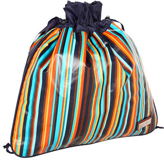 Hadaki Arabesque Stripes - Coated Multitasker Pouch