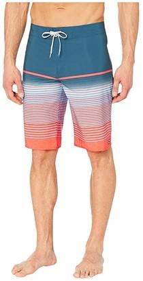 Billabong 21 All Day Stripe Pro (Neon Melon) Men's Swimwear