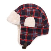 Tommy Hilfiger Plaid Trapper Hat