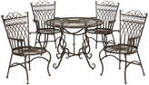 Safavieh Thessaly Patio Chair & Table 5-piece Set