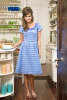 Shabby Apple Southern Charm Dress Blue