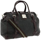 Mulholland Brothers - Safari Bag (Olive Waxed) - Bags and Luggage