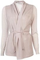 Fabiana Filippi Knit perforated jacket