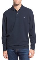 Vineyard Vines Men's Long Sleeve Pique Knit Polo