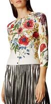 Karen Millen Atelier Floral Cardigan