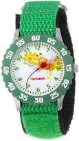 Red Balloon Kids' W000184 Buzzing Bees Stainless Steel Time Teacher Watch