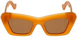 Loewe Bolded Cat Eye Acetate Sunglasses