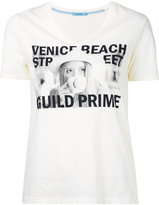 GUILD PRIME graphic printed T-shirt - women - Cotton - 34