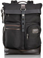 Tumi Alpha Bravo Hickory Luke Roll-Top Backpack Tote