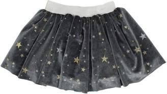 Popatu Metallic Star Velvet Skirt