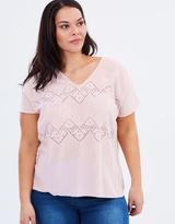 Junarose Spring Short Sleeve Top