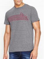 Diesel Joe Logo Stripe T-shirt