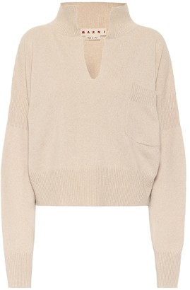 Marni Cashmere and wool-blend sweater