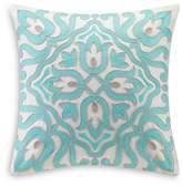 "Echo Cyprus Decorative Pillow, 18"" x 18"""