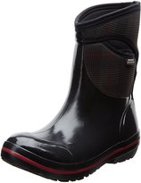 Bogs Women's Plimsoll Prince Of Wales Mid Waterproof Winter & Rain Boot