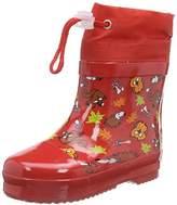 Playshoes GmbH Rubber Forest Animals Lined, Unisex Kids' Rain Boots,3 Child UK (19 EU)