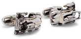 Paul Smith Space Car Silver-tone And Gold-tone Cufflinks - Silver