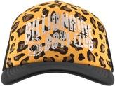 Billionaire Boys Club Leopard Trucker Cap Black