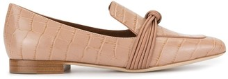 Malone Souliers Judy Flat croc-effect loafers