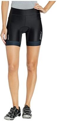 2XU Perform Tri 7 Shorts (Black/Black) Women's Shorts