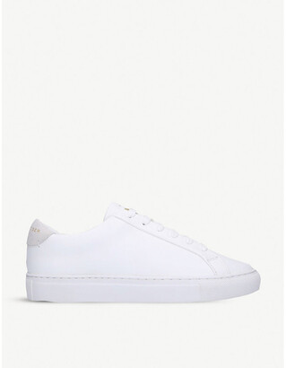 Kurt Geiger Lane lace-up leather trainers