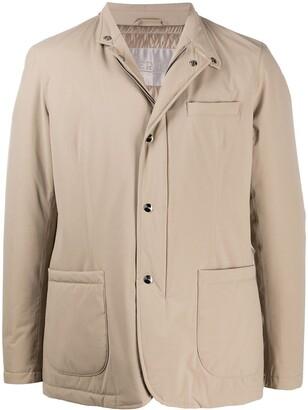 Herno Hooded Shirt Jacket