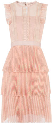 Whistles Anouk Frill Lace Dress
