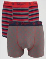 Original Penguin 2 Pack Boxer Shorts