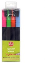 Wall Pops! ®; Liquid Chalk Dry Erase Markers 4ct - Neon