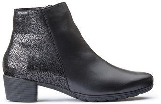 Mephisto Ilsa Leather Ankle Boots