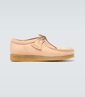 Clarks Wallabee leather shoes