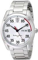 Ferrari Men's 0830178 D 50 Analog Display Quartz Silver Watch