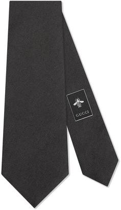 Gucci Bee underknot tie