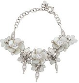 Christian Dior Mother of Pearl Flower Link Bracelet