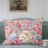 Magpie Living Vintage Pink Floral Pillow Cushion