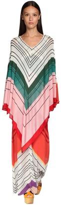Missoni Striped Knit Caftan Dress