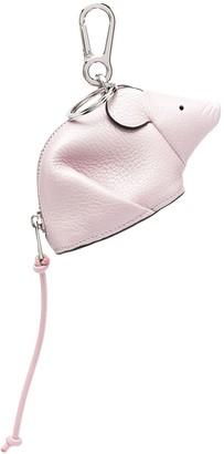 Loewe Mouse-Shaped Zipped Charm