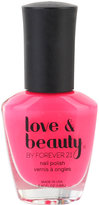Love 21 Hot Pink Party Nail Polish