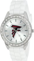 Game Time Women's NFL-FRO-ATL Frost NFL Series 3-Hand Analog Watch