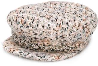 Eugenia Kim woven flat cap