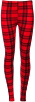 a2z4kids Girls Leggings Kids Tartan Check Print Trendy Fashion Legging New Age 7-13 Years